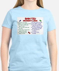 Shih Tzu Property Laws 2 T-Shirt
