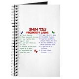 Shih tzu Journals & Spiral Notebooks