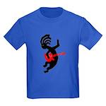 Kokopelli Guitar Kids Dark T-Shirt