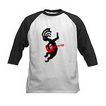 Kokopelli Guitar Kids Baseball Jersey