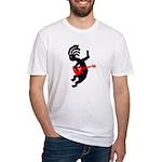 Kokopelli Guitar Fitted T-Shirt