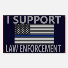 I Support Law Enforcement 7 Decal