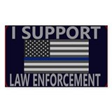 I support law enforcement Single