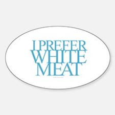 White Meat Decal