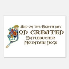 God Created Entlebuchers Postcards (Package of 8)