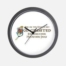 God Created Entlebuchers Wall Clock
