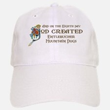 God Created Entlebuchers Baseball Baseball Cap