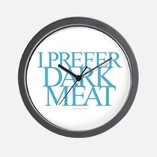 Dark Meat Wall Clock