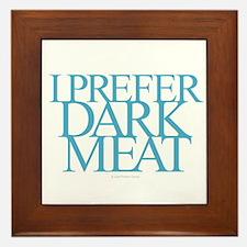 Dark Meat Framed Tile