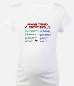 Spinone Italiano Property Laws 2 Shirt