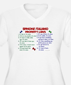 Spinone Italiano Property Laws 2 T-Shirt