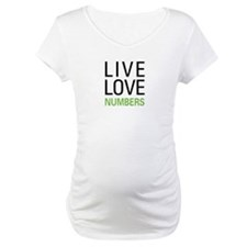 Live Love Numbers Shirt