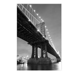 Manhattan Bridge, At Night Postcards (8)
