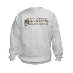 God Created Coonhounds Sweatshirt