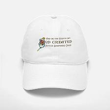 God Created Shepherds Baseball Baseball Cap
