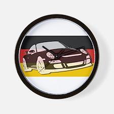 """German 911"" Wall Clock"