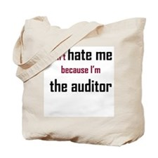 Don't Hate the Auditor - Tote Bag