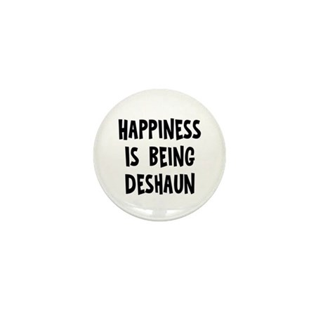 Happiness is being Deshaun Mini Button (10 pack)
