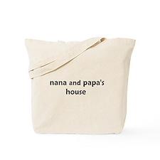 Cute Nanas house Tote Bag