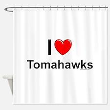 Tomahawks Shower Curtain