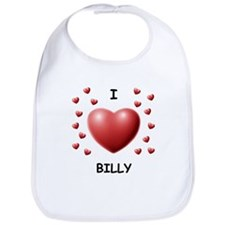 I Love Billy - Bib