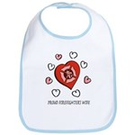 Proud Firefighter's Wife Bib