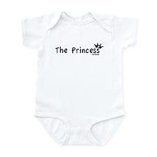 "Girls Infant Onsie:  ""The Princess"""