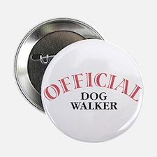 "Official Dog Walker 2.25"" Button (10 pack)"