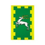 Outlands Populace Ensign Rectangle Magnet (100 pac
