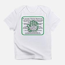DONT TALK LOGO Infant T-Shirt