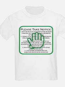 DONT TALK LOGO T-Shirt