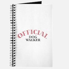 Official Dog Walker Journal