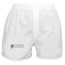 God Created Shar-Peis Boxer Shorts