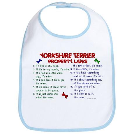 Yorkshire Terrier Property Laws 2 Bib