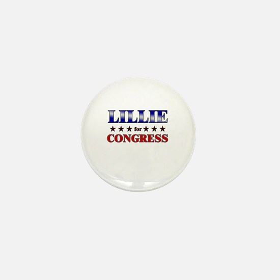 LILLIE for congress Mini Button