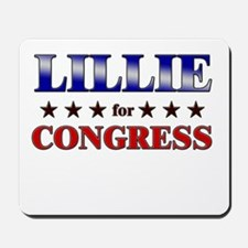 LILLIE for congress Mousepad