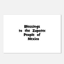 Blessings  to  the  Zapotec P Postcards (Package o