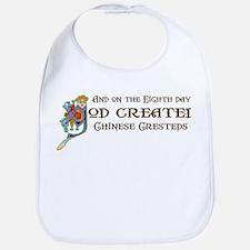 God Created Cresteds Bib