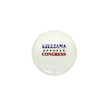 LILLIANA for congress Mini Button