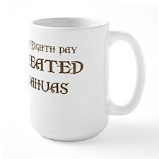 God Created Chihuahuas Mug