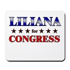 LILIANA for congress Mousepad