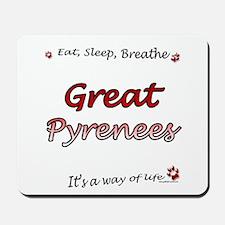 Great Pyr Breathe Mousepad