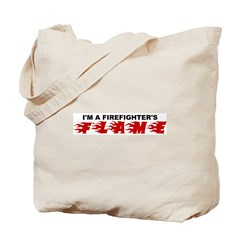 Firefighter's Flame Tote Bag
