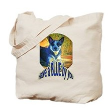 """""""Blue By You"""" Tote Bag"""