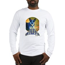 """""""Blue By You"""" Long Sleeve T-Shirt"""