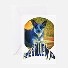 """Blue By You"" Greeting Card"
