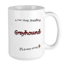 Greyhound Breathe Mug