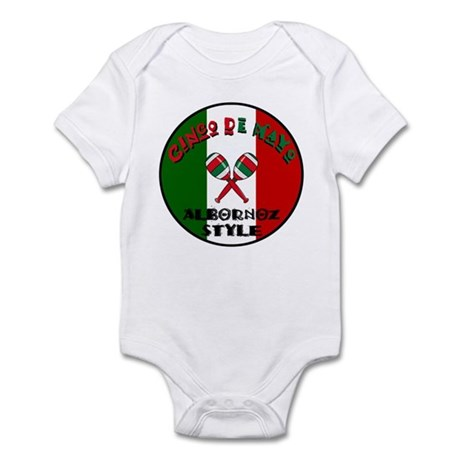 Albornoz Cinco De Mayo Infant Bodysuit