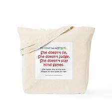 No Games (Girl) Tote Bag