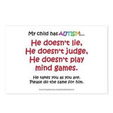 No Games (Boy) Postcards (Package of 8)